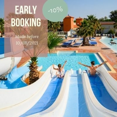Promo early booking anglais